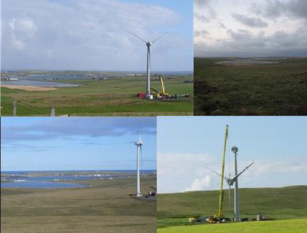 Windfarm in Westray